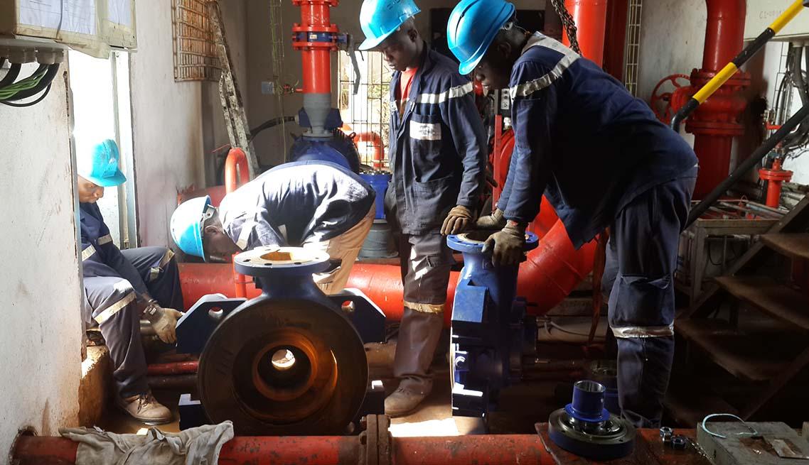 révision d'une pompe hydraulique - cimtisarl.com